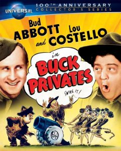 Bud Abbott and Lou Costello in Buck Privates - Universal 100th anniversary collectors edition - swing it