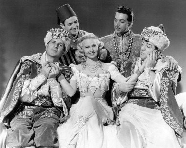 Lost in a Harem, starring Bud Abbott, Marilyn Maxwell, Lou Costello