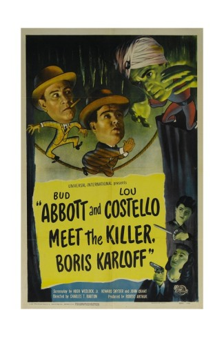 Abbott and Costello Meet the Killer, Boris Karloff (1949) movie poster