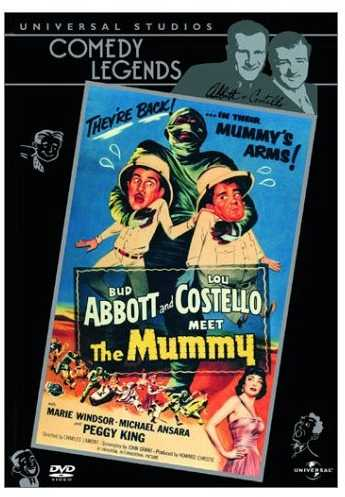 Abbott and Costello Meet the Mummy - DVD cover
