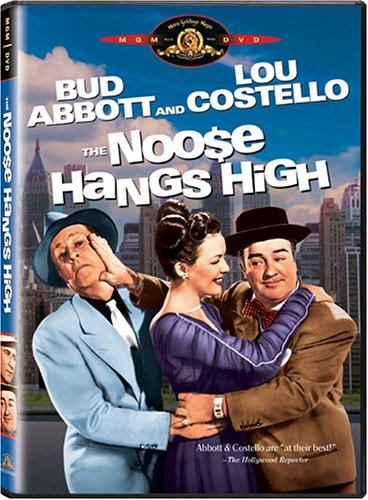 The Noose Hangs High - Bud Abbott and Lou Costello - DVD cover