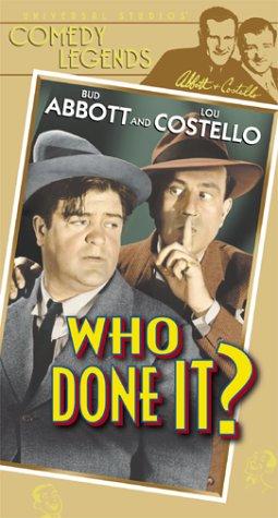 Who Done It? Lou Costello, Bud Abbott