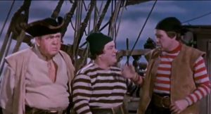 Abbott and Costello Meet Captain Kidd - handcuff routine