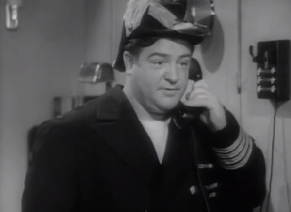 In the Navy - Admiral Lou Costello