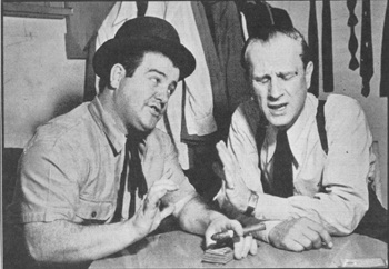 Lou Costello and Bud Abbott in Newsweek 1940