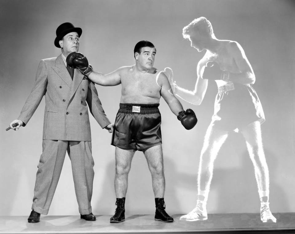 Abbott and Costello meet the Invisible Man - promotional photo