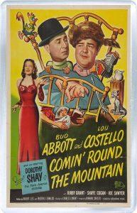 Comin' Round the Mountain, starring Abbott and Costello, Dorothy Shay, Margaret Hamilton