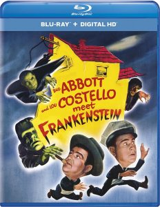 Bud Abbott and Lou Costello Meet Frankenstein, starring Bela Lugosi, Lon Chaney Jr., Glenn Strange