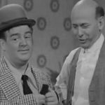 Lou Costello proves to Sid Fields that a loaf of bread is the mother of an airplane