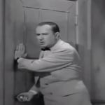 Bud Abbott is locked outside at the worst possible moment