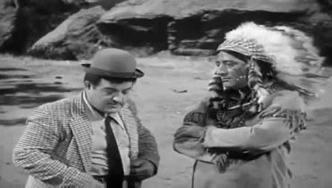 The Western Story - Lou Costello and Indian
