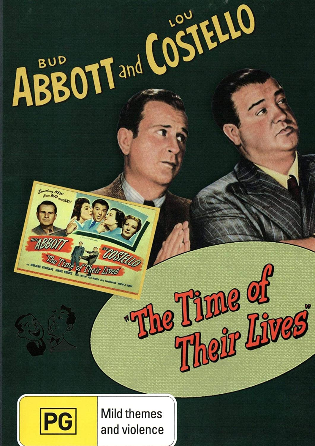 The Time of their Lives (1946) starring Bud Abbott, Lou Costello, Marjorie Reynolds, Binnie Barnes, John Shelton, Gale Sondergaard