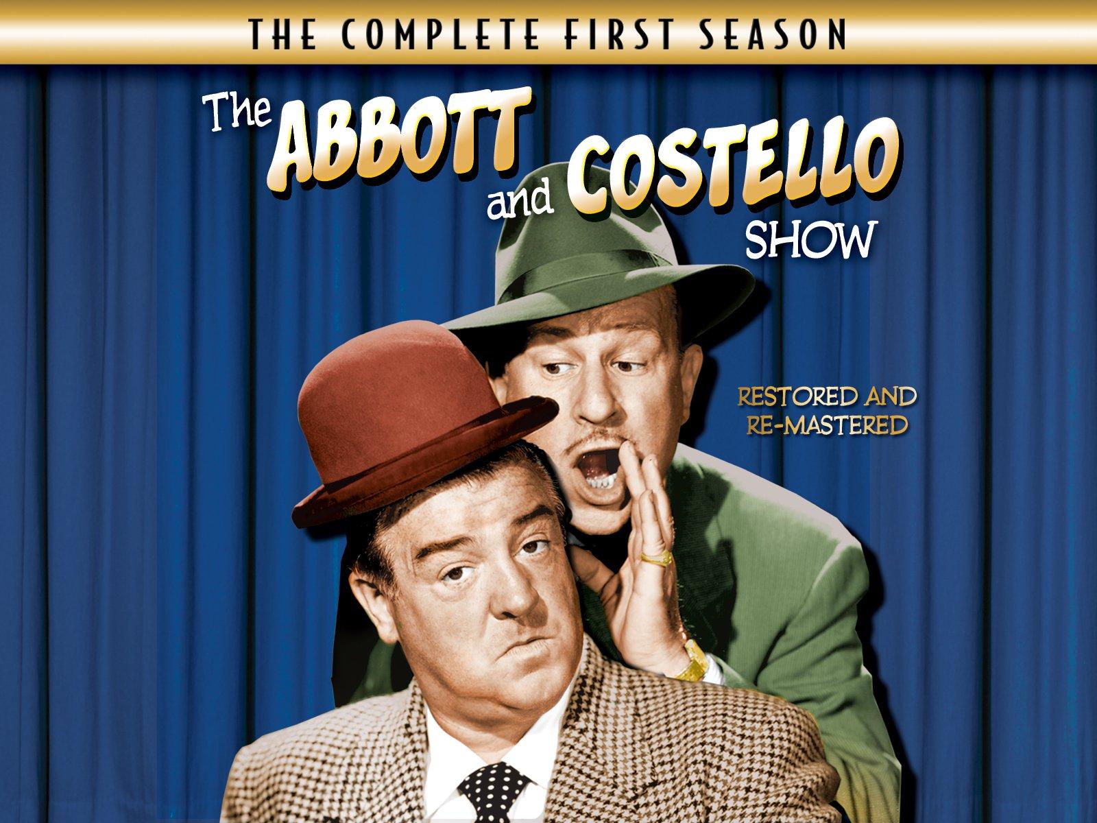 The Abbott and Costello Show season 1 (1953) starring Bud Abbott, Lou Costello, Hillary Brooke, Sid Fields