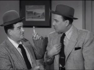 Lou Costello and Bud Abbott in Private Eye - The Abbott and Costello Show season 2