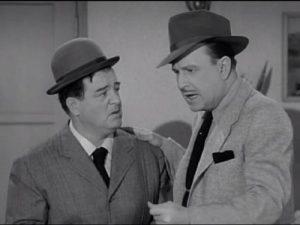 Lou Costello and Bud Abbott in Public Enemies