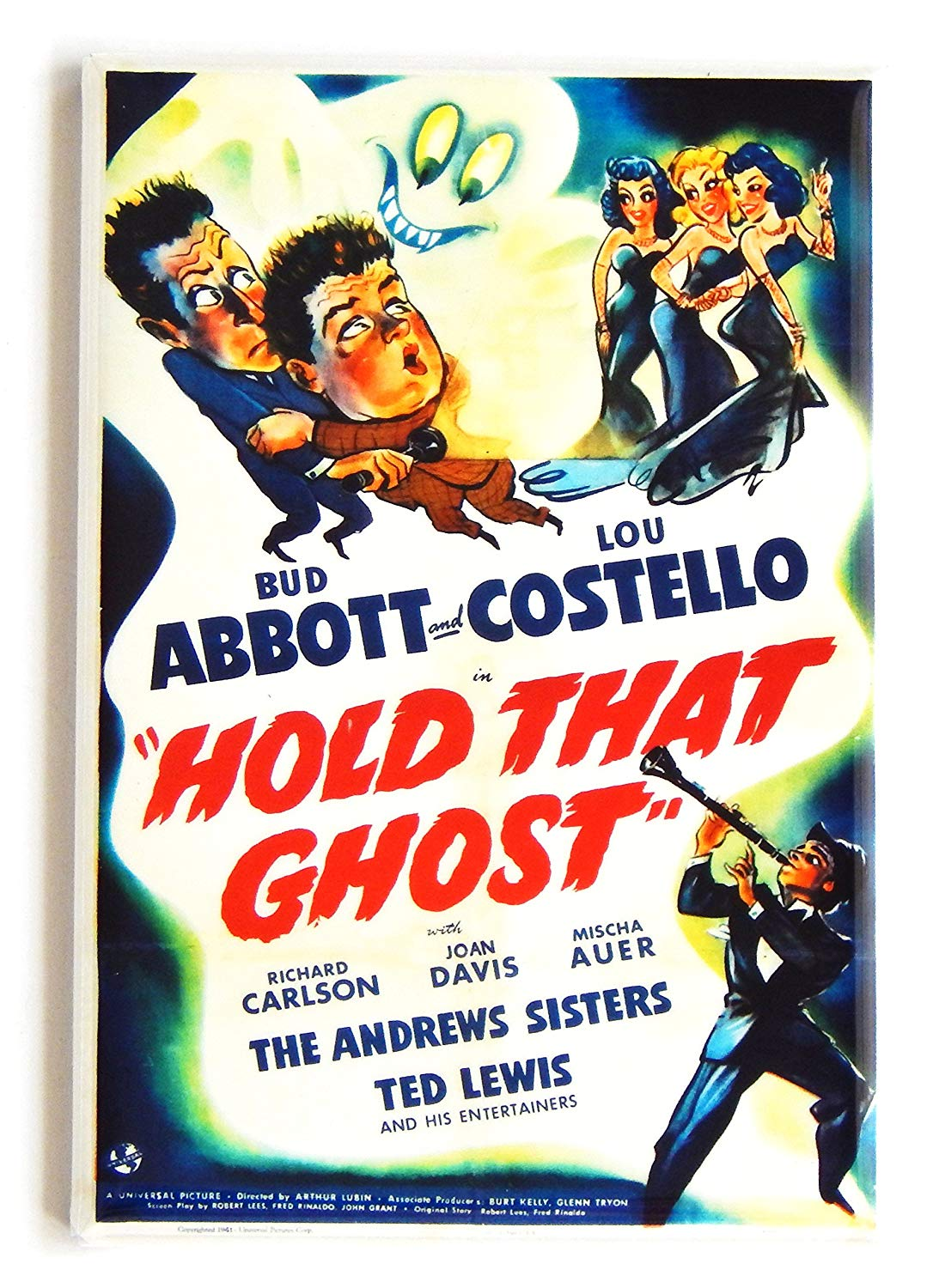 Hold That Ghost movie poster - Abbott and Costello