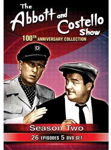 The Abbott and Costello Show - 100th Anniversary Collection - Season 2 - 26 episodes - 5 DVDs