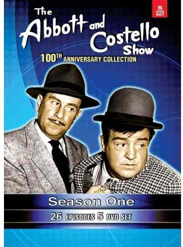 The Abbott and Costello Show - 100th Anniversary Collection - Season 1 - 26 Episodes - 5 DVD set