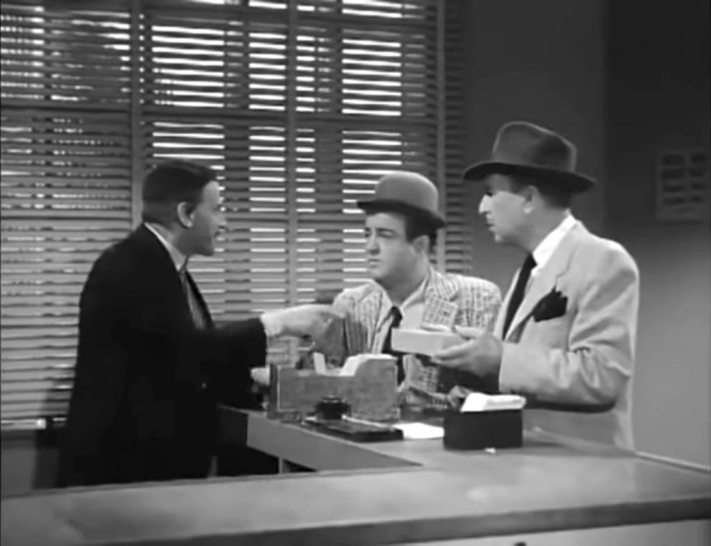 Fields Unemployment Office - with Sid Fields, Lou Costello, Bud Abbott