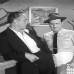 Mr. Brody tells Bud Abbott to quit complaining and get back to work