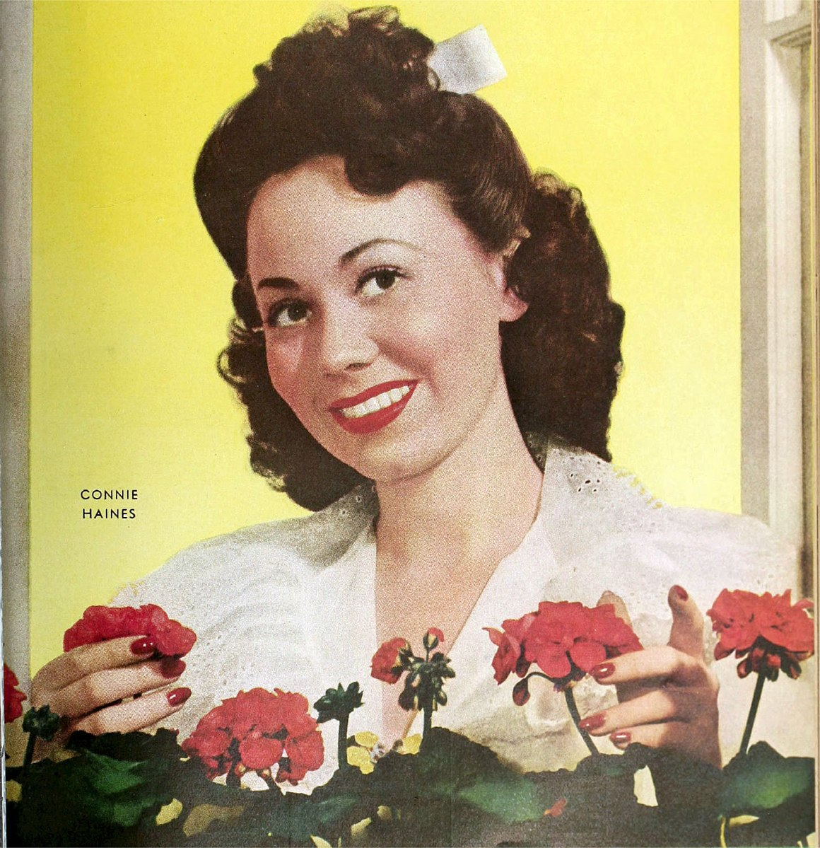Connie Haines, circa 1943