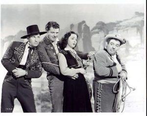 Bud Abbott, John Carroll, Kathryn Grayson, Lou Costello