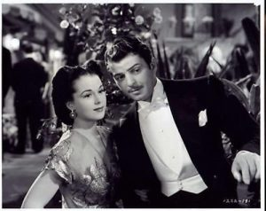 "Kathryn Grayson and John Carroll - songbirds and the romantic couple in ""Rio Rita"""