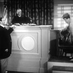 """Take the stand (too literally) by Lou Costello in """"Jail"""""""